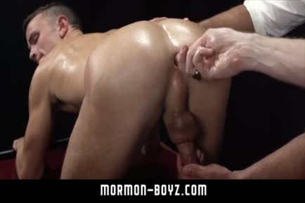 Boy hole fucked by huge daddy cock MORMON-BOYZ.COM